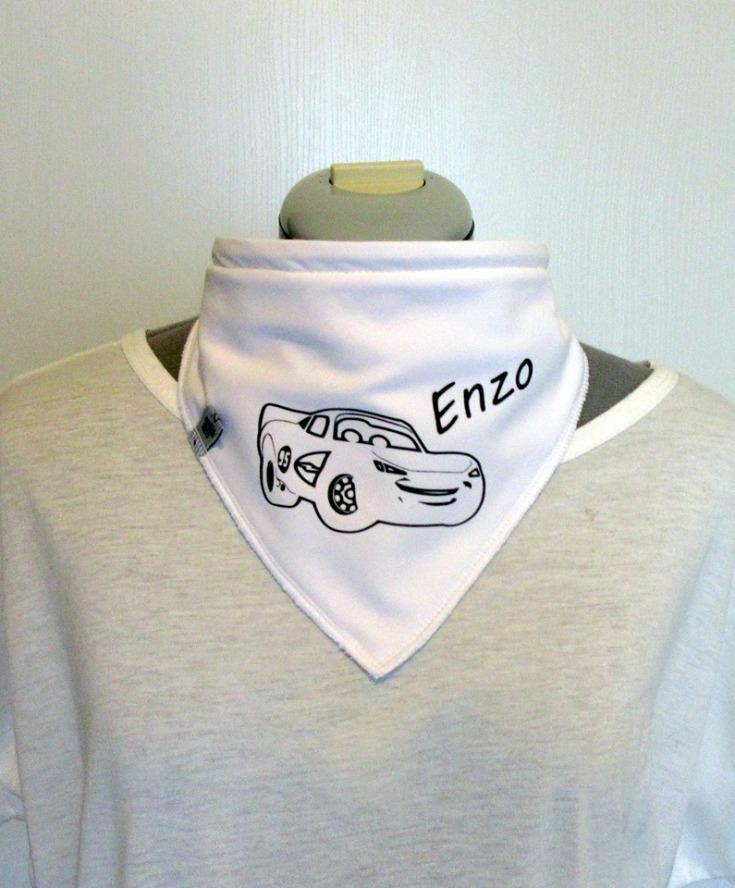 bandana personnalisé cars